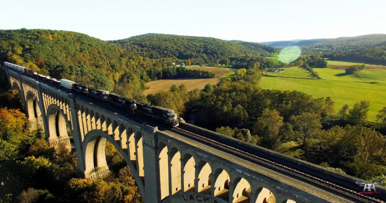 Capturing NEPA's Railroad History From Above