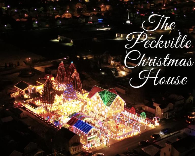 Peckville Christmas House